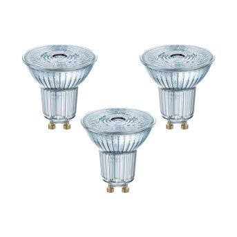 Osram 3x Set LED GU10 4,3 Wat 2700 Kelwinów 350 Lumenów