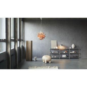 Louis Poulsen PH Artichoke lampy panelowe LED Chrom, 1-punktowy