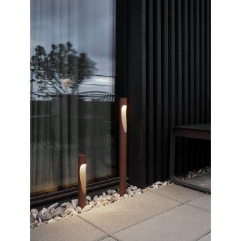 Louis Poulsen Flindt Oświetlenie ścieżek LED Rudy, 1-punktowy