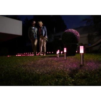 LEDVANCE GARDEN POLE Oświetlenie ścieżek Stal nierdzewna, 1-punktowy, Zmieniacz kolorów