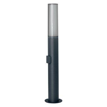 LEDVANCE FLARE Zewnętrzny kinkiet Siwy, 1-punktowy, Zmieniacz kolorów