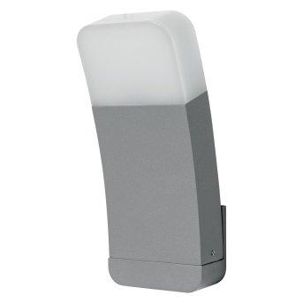 LEDVANCE CURVE Zewnętrzny kinkiet Srebrny, 1-punktowy, Zmieniacz kolorów