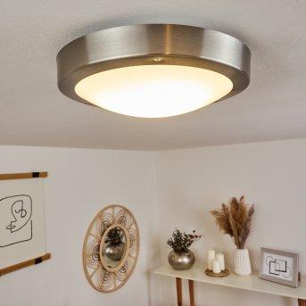 Alleen Lampa Sufitowa zewnętrzna LED Nikiel matowy, 3-punktowe