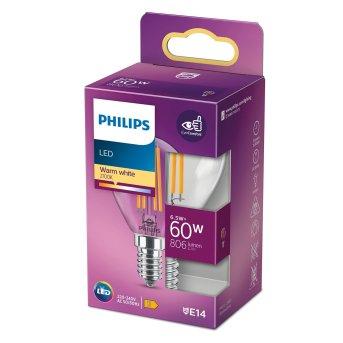 Philips LED E14 6,5 Wat 2700 Kelwinów 806 Lumenów