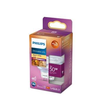 Philips LED GU5,3 7 Wat 2700-2200 Kelwinów 621 Lumenów