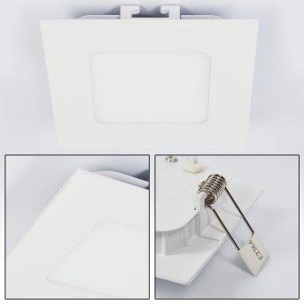 Finsrud Oprawa wpuszczana LED Biały, 1-punktowy