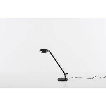 Artemide Demetra Micro lampka nocna LED Czarny, 1-punktowy