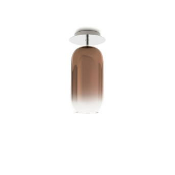 Artemide Gople Mini Lampa Sufitowa Aluminium, 1-punktowy