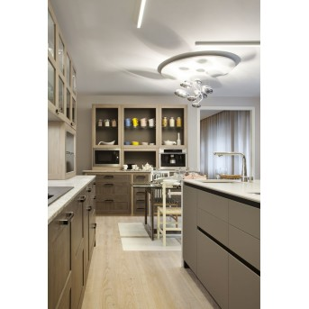 Artemide Mercury Mini Lampa Sufitowa LED Chrom, 1-punktowy