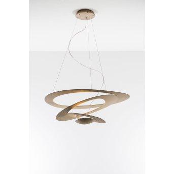 Artemide Pirce Lampa Wisząca LED Złoty, 1-punktowy