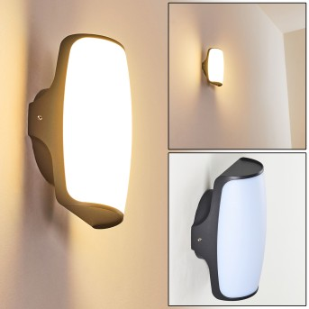Zewnętrzny kinkiet Svea LED Antracytowy, 1-punktowy