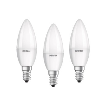 Osram LED E14 5,7 Watt 2700 Kelvin 470 Lumen zestaw trzech