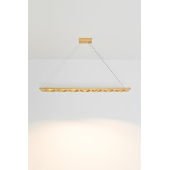 Holländer TENACIA Lampa Wisząca LED Złoty, 7-punktowe