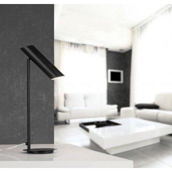 Faro Link Lampa stołowa Czarny, 1-punktowy