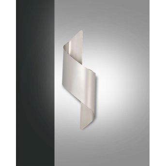 Fabas Luce Fanes Lampa ścienna LED Chrom, Srebrny, 1-punktowy