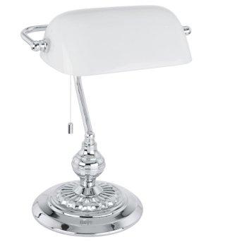 Eglo BANKER Lampa stołowa Chrom