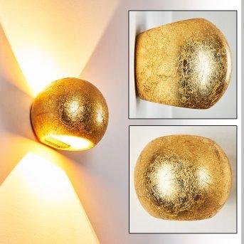 Flot Lampa ścienna Złoty, 1-punktowy