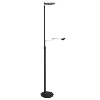 Steinhauer Turound Lampa Stojąca LED Czarny, Stal nierdzewna, 2-punktowe