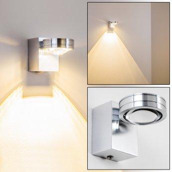 FLORENZ lampa łazienkowa LED Aluminium, 1-punktowy