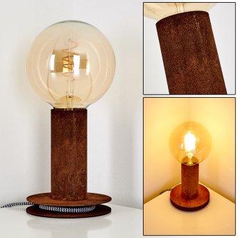 Kimstad Lampa stołowa Rudy, 1-punktowy