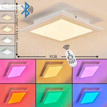 Voisines Lampa Sufitowa LED Biały, 1-punktowy, Zdalne sterowanie, Zmieniacz kolorów