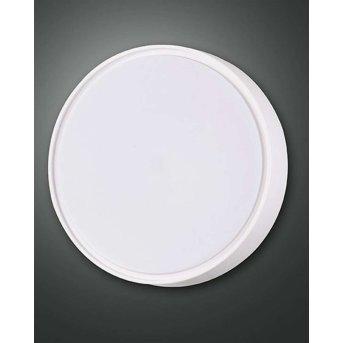 Fabas Luce HATTON lampa sufitowa na zewnątrz LED Biały, Czujnik ruchu