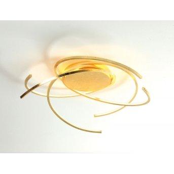 Escale SPACE Lampa sufitowa LED Złoty, 1-punktowy