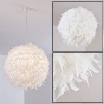 Skaulo Lampa Wisząca Biały, 1-punktowy