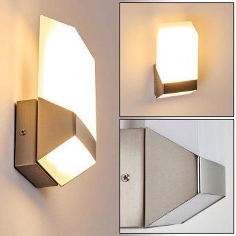 Zewnętrzny kinkiet Clear LED Nikiel matowy, 1-punktowy