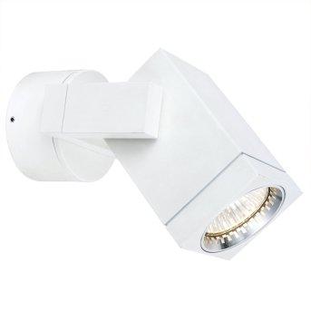 KS Verlichting Cubic Lampa ścienna Biały, 1-punktowy