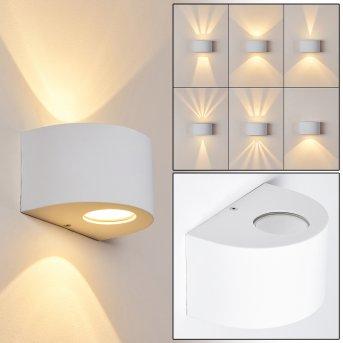 Windhoek Zewnętrzny kinkiet LED Biały, 2-punktowe