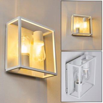 Karlsborg Lampa ścienna Biały, 2-punktowe