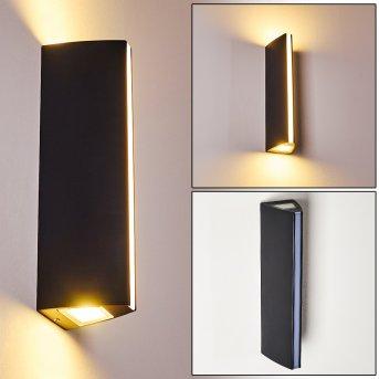 Zewnętrzny kinkiet Rotterdamm LED Czarny, 1-punktowy
