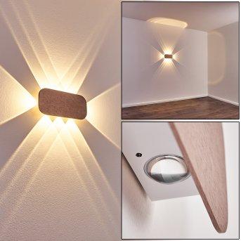 Homad Lampa ścienna LED Biały, 1-punktowy