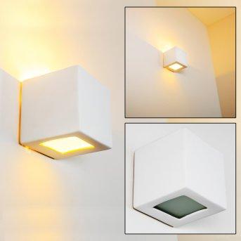 Noto lampa ścienna Biały, 1-punktowy