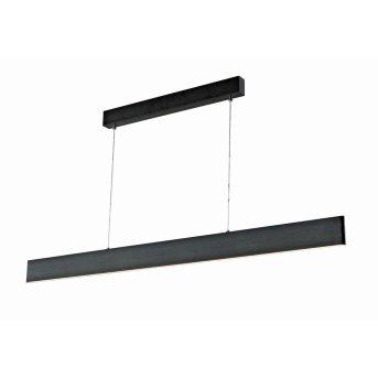 WOFI SILEAS Lampa Wisząca LED Czarny, 1-punktowy, Zdalne sterowanie