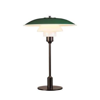 Louis Poulsen 3½-2½ Lampa stołowa Zielony, 1-punktowy