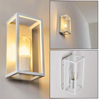 Karlsborg Lampa ścienna Biały, 1-punktowy