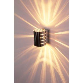 Ponte lampa ścienna Chrom, 1-punktowy