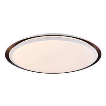 Globo XAVER Lampa Sufitowa LED Czarny, Biały, 2-punktowe, Zdalne sterowanie, Zmieniacz kolorów