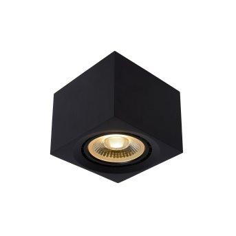 Lucide FEDLER Reflektor sufitowy Czarny, 1-punktowy