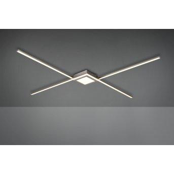 Trio Oxford Lampa Sufitowa LED Nikiel matowy, 1-punktowy