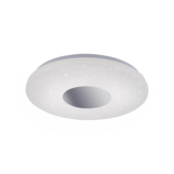 Leuchten Direkt LAVINIA Lampa Sufitowa LED Chrom, 1-punktowy, Czujnik ruchu