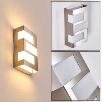 Lannion Zewnętrzny kinkiet LED Stal nierdzewna, 3-punktowe
