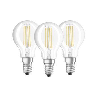 Osram LED E14 4,5 Watt 2700 Kelvin 470 Lumen zestaw trzech