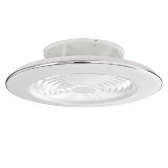 wentylator sufitowy Mantra ALISIO LED Biały, 1-punktowy, Zdalne sterowanie