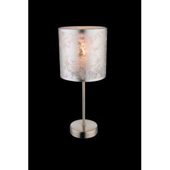 Globo Lampa stołowa Nikiel matowy, 1-punktowy