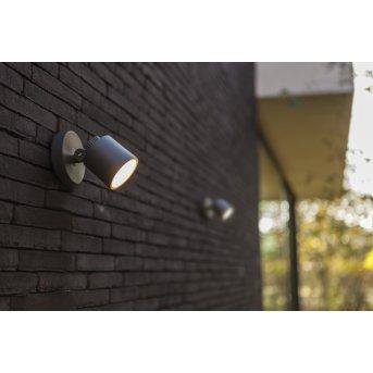 Lutec Explorer Zewnętrzny kinkiet LED Antracytowy, 1-punktowy
