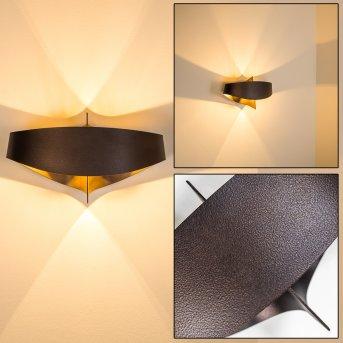 Padua lampa ścienna Brązowy, 2-punktowe