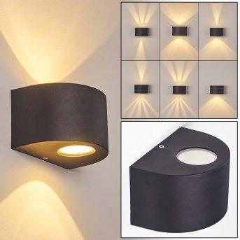 Windhoek Zewnętrzny kinkiet LED Antracytowy, 2-punktowe